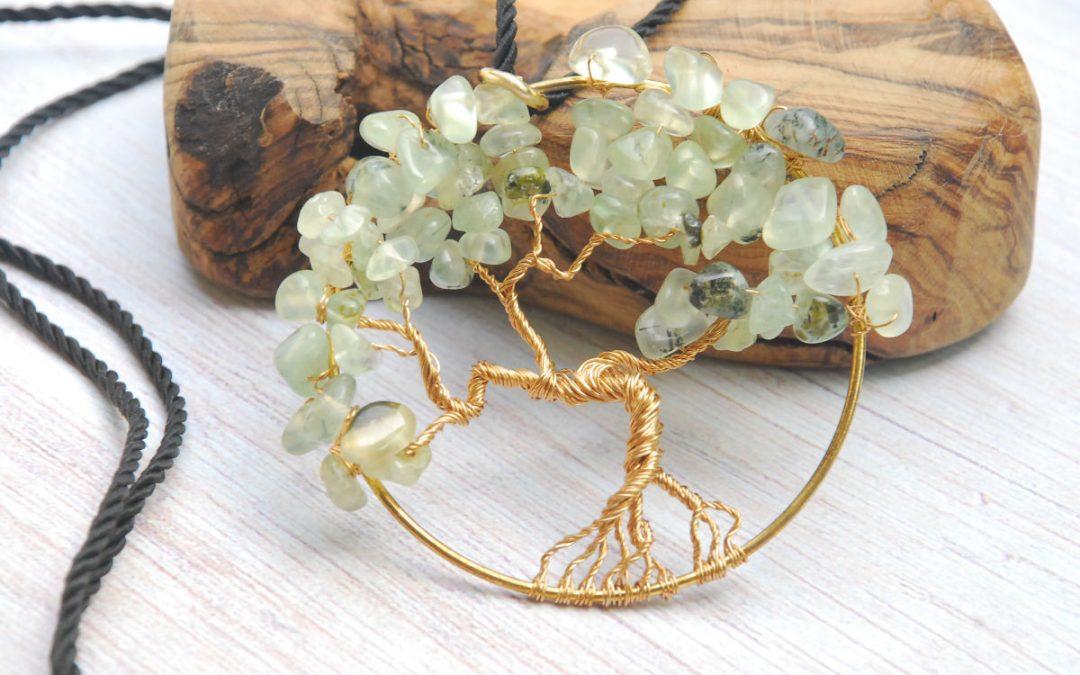 albero prenite oro