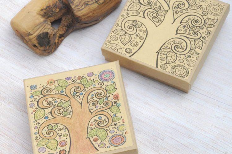 scatole alberi