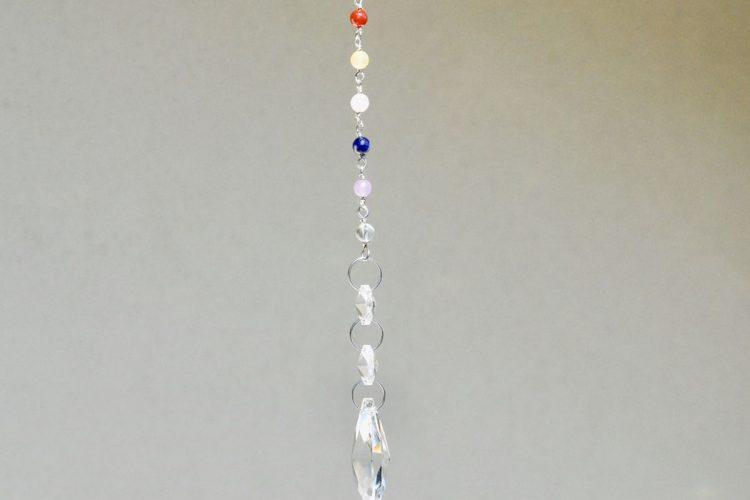Acchiappa sole pietre vere dei 7 chakra